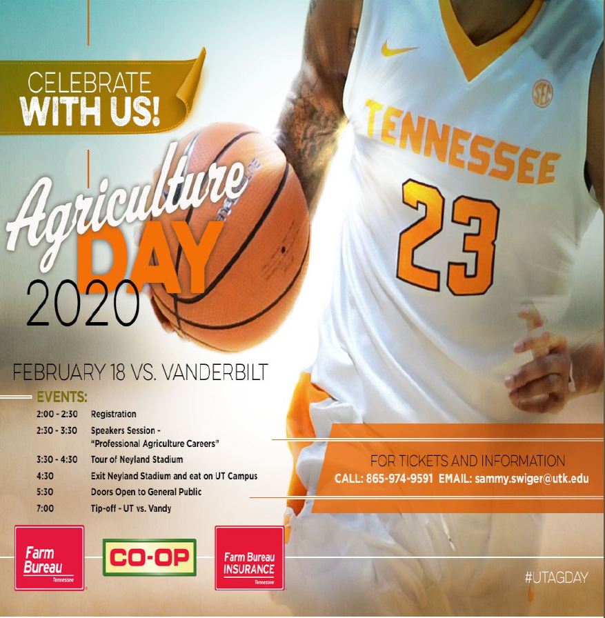 Ag Day with UT Basketball