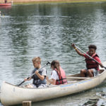 Canoeing At Camp