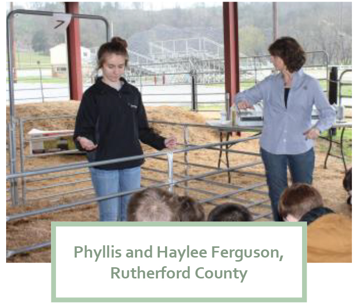 Tennessee 4-H: A Family Affair - Phyllis and Haylee Ferguson, Rutherford County