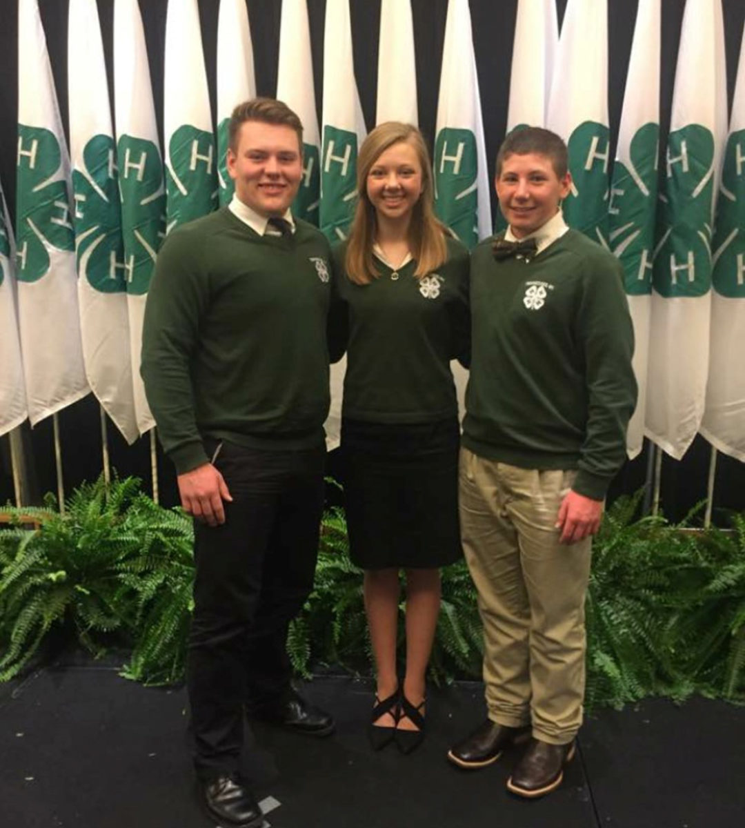 4-H Congress Officers Elected  - Sorrell Martin – Lincoln County – Governor Joshua Wade – Bedford County – Speaker of the House John Ryan Scarlett – Jefferson County – Speaker of the Senate
