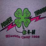 Power through 4-H - Electric Camp 1992