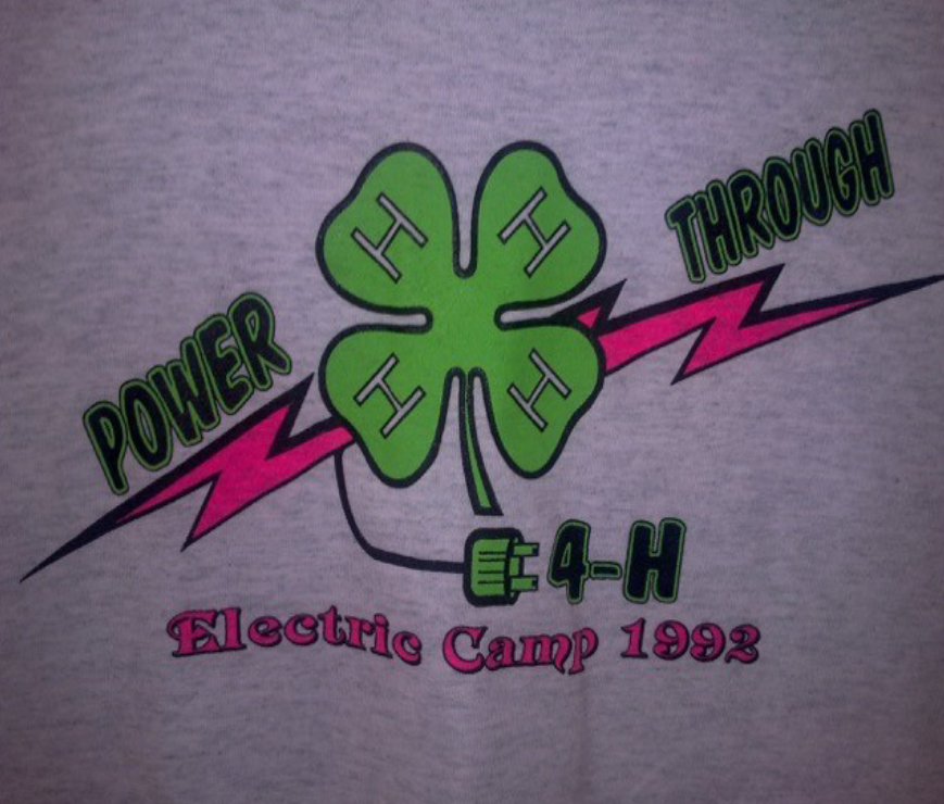 Power through 4-H - Electric Camp 1992