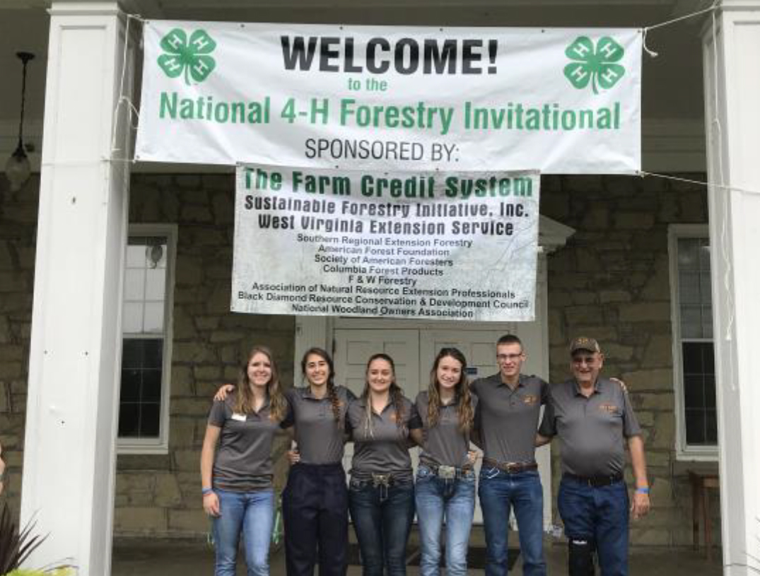 Carter County Competes at National 4-H Forestry Invitational