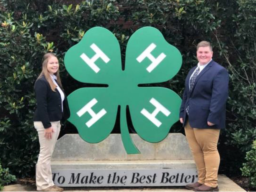 Marion County4-H Members LearnPresentation Skills through Horse Project - Maddie Ashburn and Brandon Bass