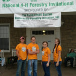 Putnam County Competes at National 4-H Forestry Invitational - Team mem- bers included Hannah Steger, Emily Welte, Luke Welte, and Dawsen Arms.