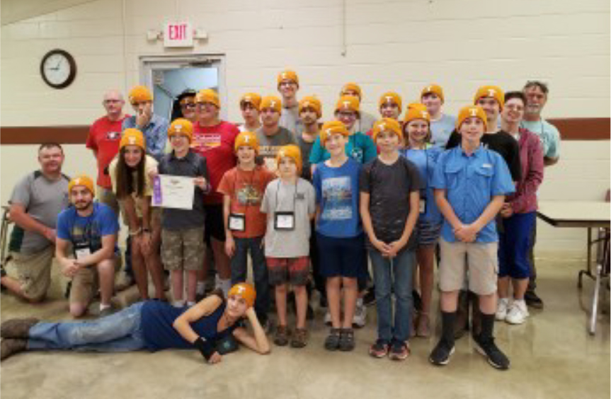 4-H'ers at the Shooting Sports