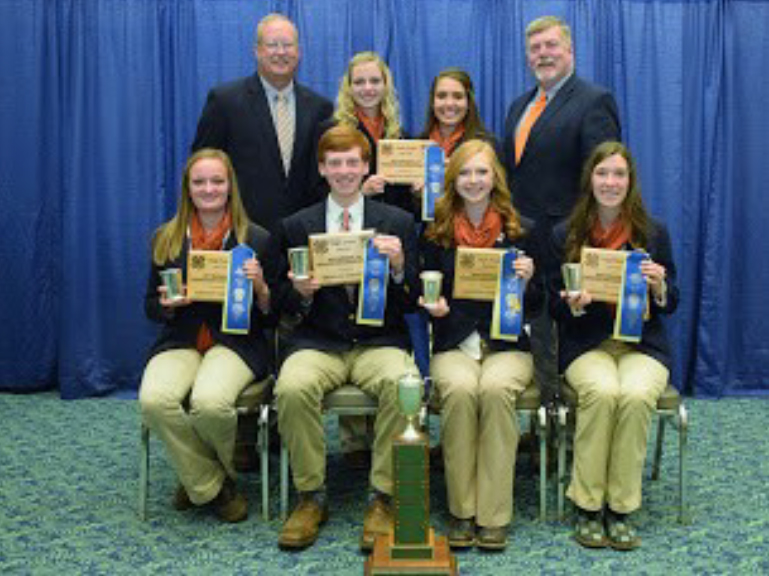 TN 4-H LIVESTOCK SKILLATION TEAM WINS NATIONAL CONTEST - Team members and overall award rank were: Garrett Franklin, Clay County (1st) Kendall Martin, Lincoln County (2nd) Juliann Fears, Lincoln County (3rd) Abby Tipton, Loudon County (9th) Makenzie Moorehead, Lincoln County Abi Bartholomew, Henderson County County Agents Alan Bruhin, Sevier County and John Goddard, Loudon County were team coaches.