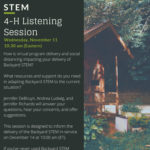Backyard STEM - 4-H Listening Session