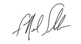 F Neal Schrick signature