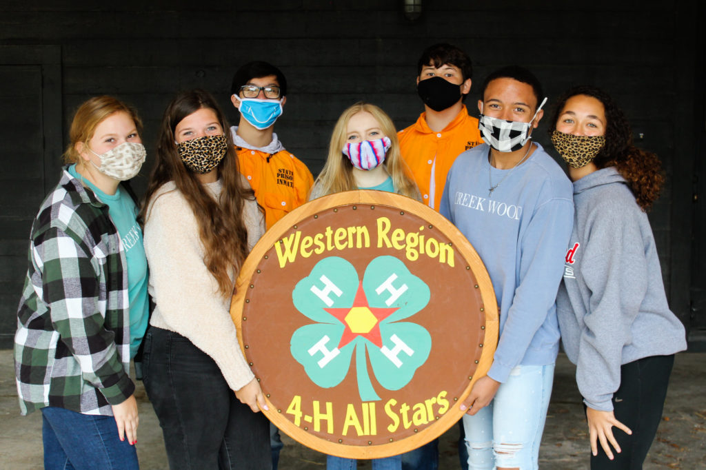 All star 4-H team fall retreat 2020