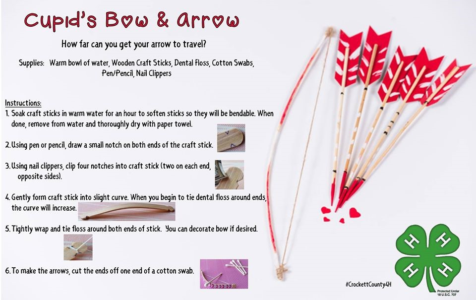 Cupid's Bow & Arrow
