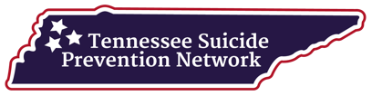 Logo for Tennessee Suicide Prevention Network