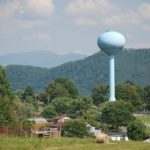 Water tower in Tennessee