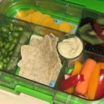 Lunchbox with nutritious lunch