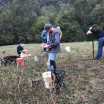 Picture of Eli Oliver at the soil judging competition