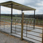 Picture of hay feeder