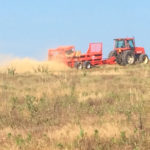 Picture of sprayer on a hillside