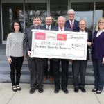 UTIA and Tennessee Farm Bureau Leaders holding Gift Check