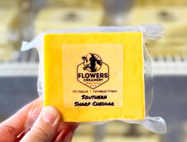 Flowers Creamery Cheese